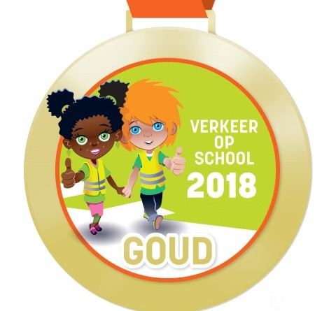Digitale schoolpoortmedaille Goud 2018 (Small)