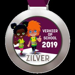 Digitale schoolpoortmedaille Zilver 2019 (Custom) (2)